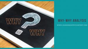 why-why analysis